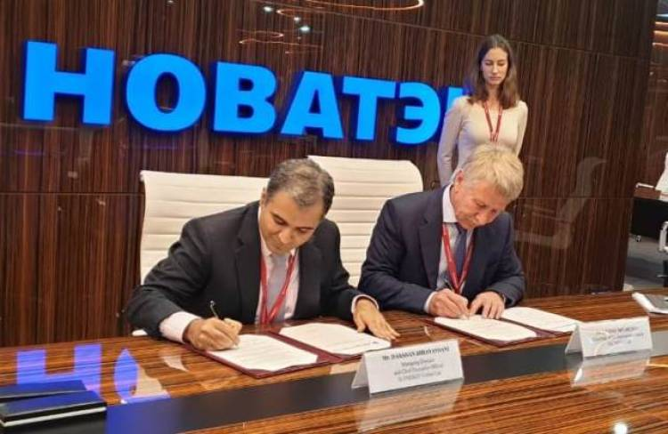 H-Energy signs LNG Cooperation Agreement with NOVATEK