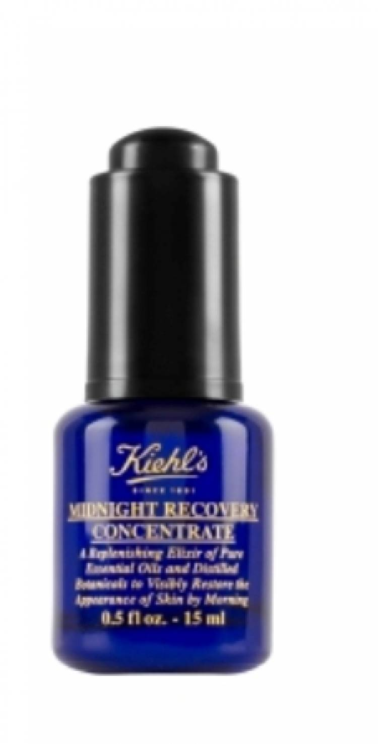 KIEHL'S INTRODUCES THE POTENT BOTANICAL ELIXIR  MIDNIGHT RECOVERY CONCENTRATE
