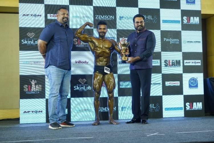 Actor R Sarath Kumar present as Chief Guest at SLAM Lifestyle and Fitness Studio