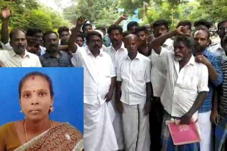 கும்பகோணம்: தவறான சிகிச்சையால் பிரசவத்திற்கு வந்த பெண் உயிரிழப்பு- உறவினர்கள் ஆர்ப்பாட்டம்