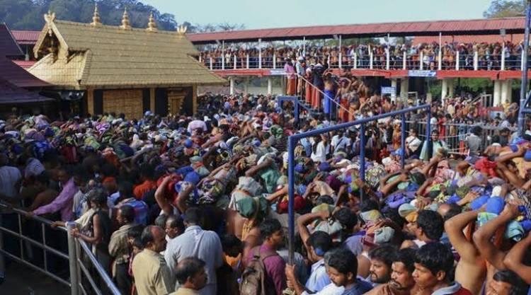 சபரிமலை நடை திறப்பு முதல்நாளிலேயே ரூ.3.32 கோடி வருமானம்
