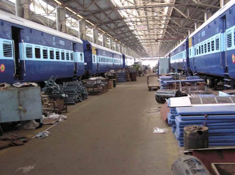 3000 ரயில் பெட்டிகள்: பெரம்பூர் ரயில்பெட்டித் தொழிற்சாலை சாதனை