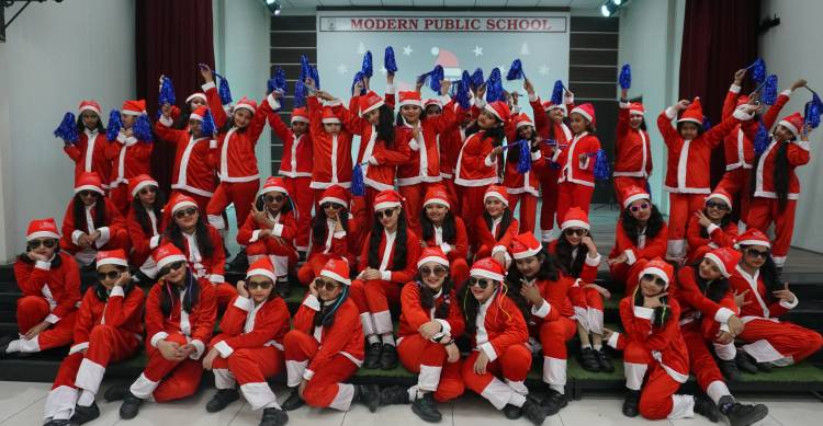 Christmas Celebration at Modern Public School