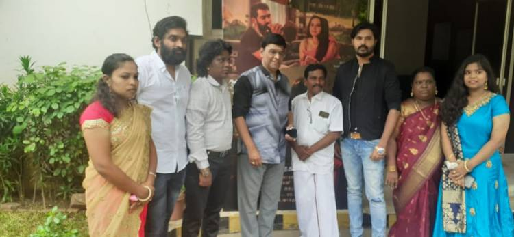 Legentary director K BHAKIYARAJ  arrived DOLA for  audio and teaser launch
