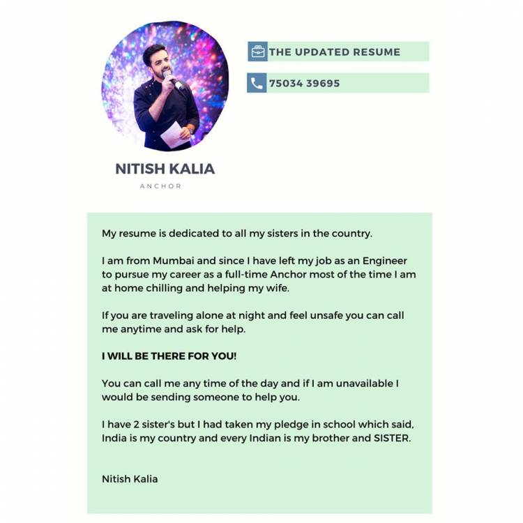From Engineer to Anchor - Story of Nitish Kalia