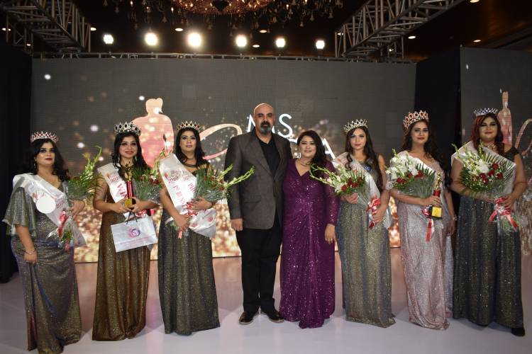 GIRLS FROM MUMBAI AND DELHI WERE CROWNED MS. INDIA CURVY 2020