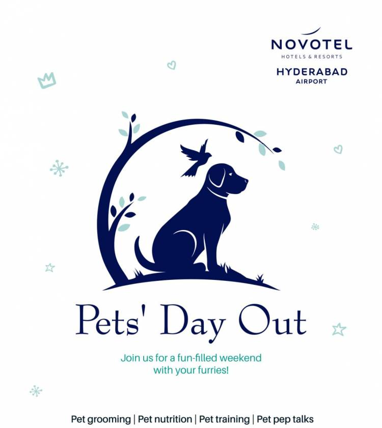 Pet's Day Out at Novotel Hyderabad Airport