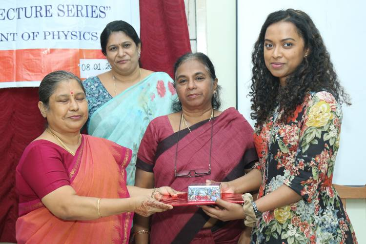 Stella Maris College organised a Popular Lecture on Radio Astronomy and Fast Radio Bursts