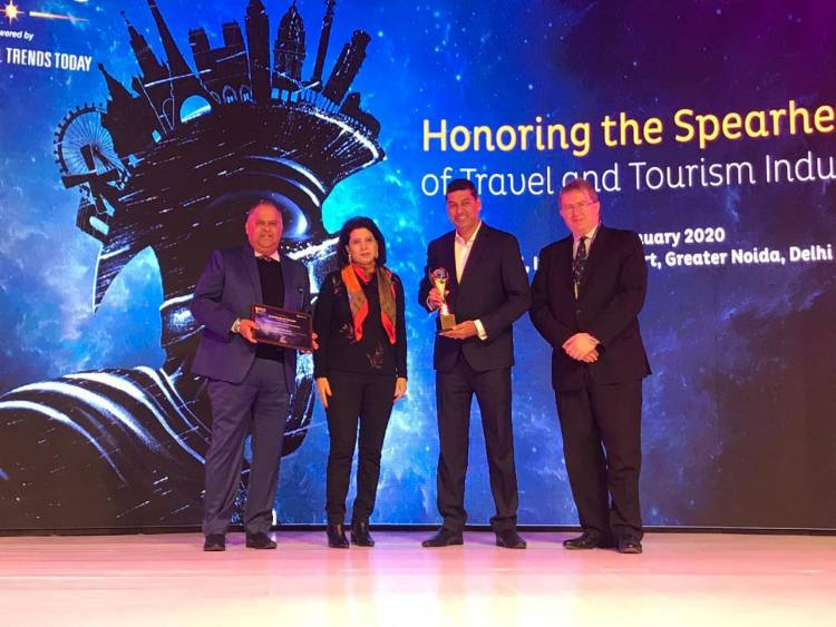 Thomas Cook wins award for Best Outbound Tour Operator at SATTE Awards 2020
