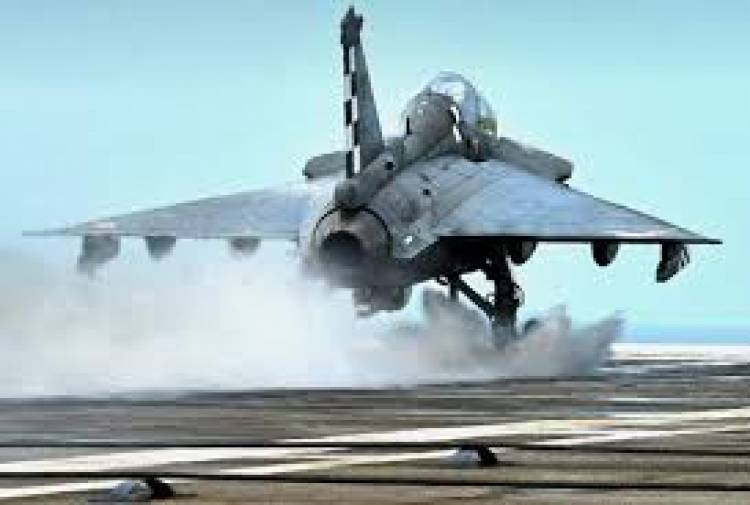 Naval LCA makes successful arrested landing on aircraft carrier INS Vikramaditya