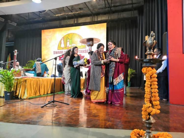 2nd  day of 19th Edition Swami Haridas Tansen Sangeet Nritya Mahotsav