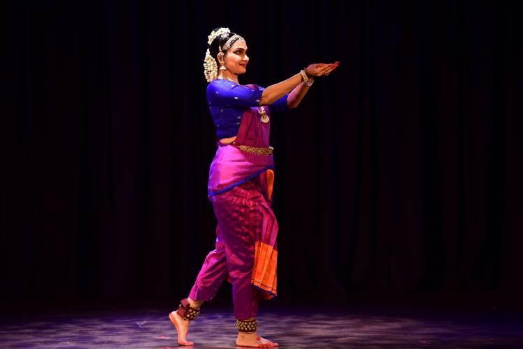 Dancer-Actor Radica Giri's Margazhi performance at Brahma Gana Sabha