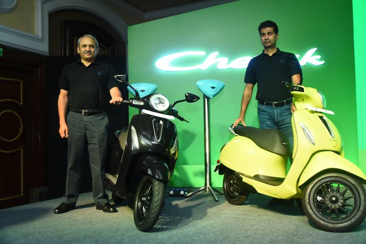 Bajaj Auto opens bookings for Chetak in Pune and Bangalore