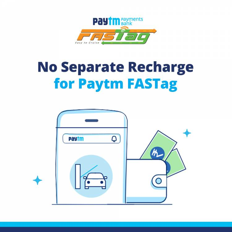 Paytm Bank becomes the largest issuer of FASTags