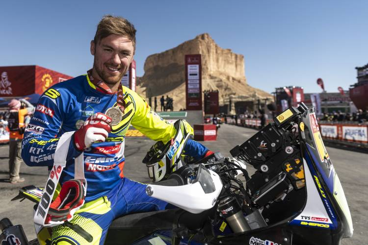 Sherco TVS Rally Factory Team Sets a new benchmark at  Dakar Rally 2020