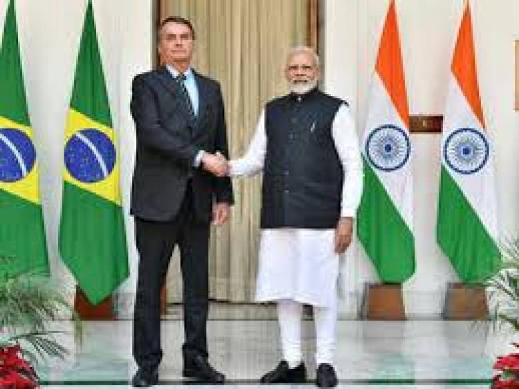 India and Brazil inked 15 pacts to boost cooperation