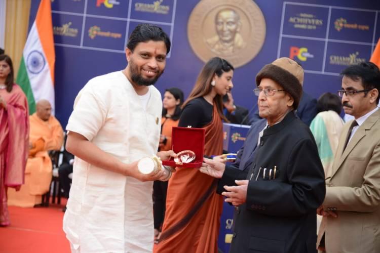 Acharya Balakrishna awarded