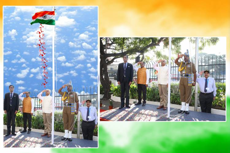 Indian Overseas Bank celebrated 71st Republic Day