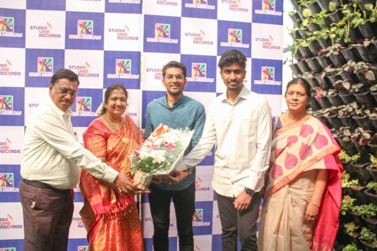 """Launch of """"Studio UNO Records"""" By Music dir S.Thaman"""" & Singer Mahathi as Guest of Honour"""