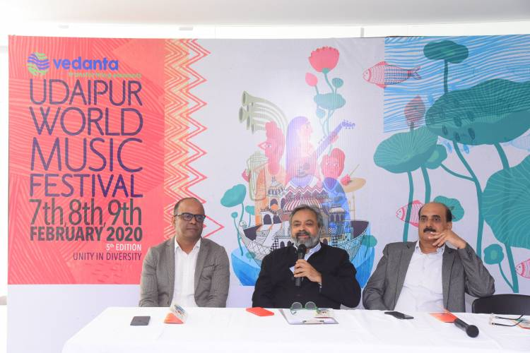 Udaipur World Music Festival ropes in Hindustan Zinc as the title sponsor of 5th edition