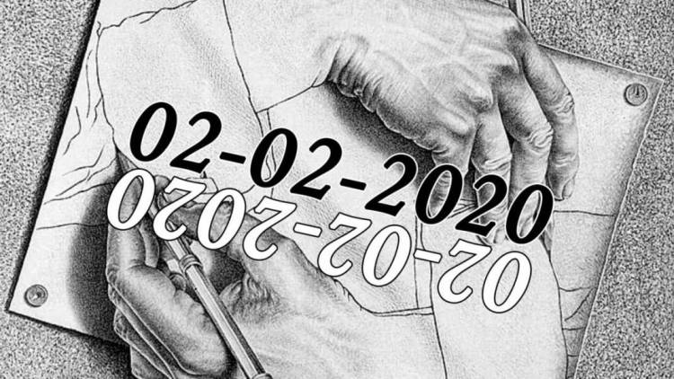 Today is 02022020 A Special Day