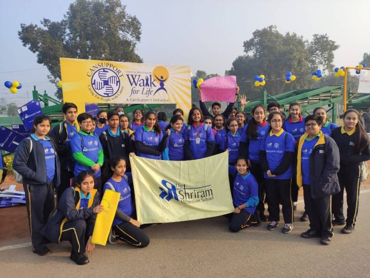 Students hold awareness walk in solidarity with Cansupport 13th Walk for Life