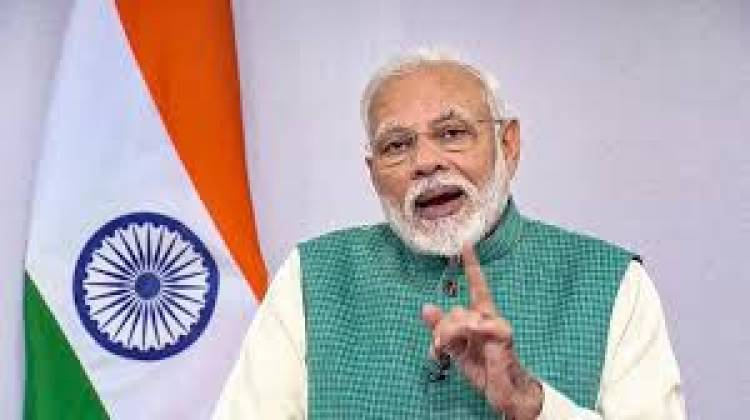 Our target is USD 5 billion of defence export in next five years: Modi