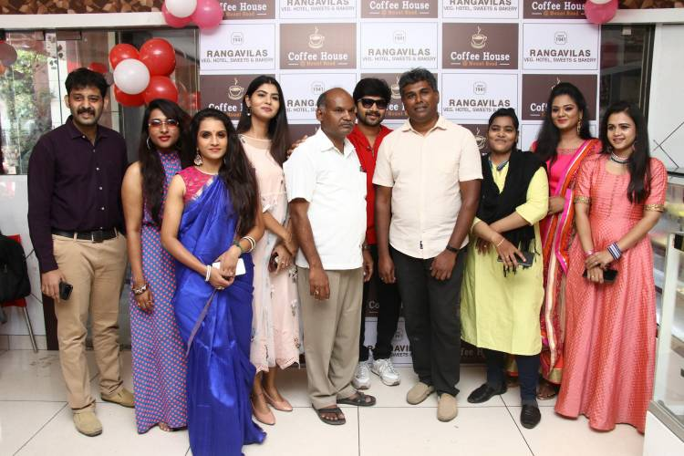 Ranga Vilas Hotel Launch@ ICF Bus Depot Photos
