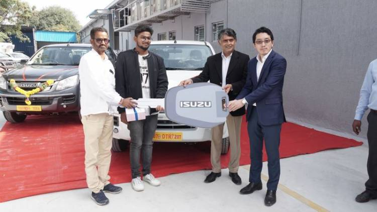 Isuzu Motors India opens a new Service Facility in Hyderabad