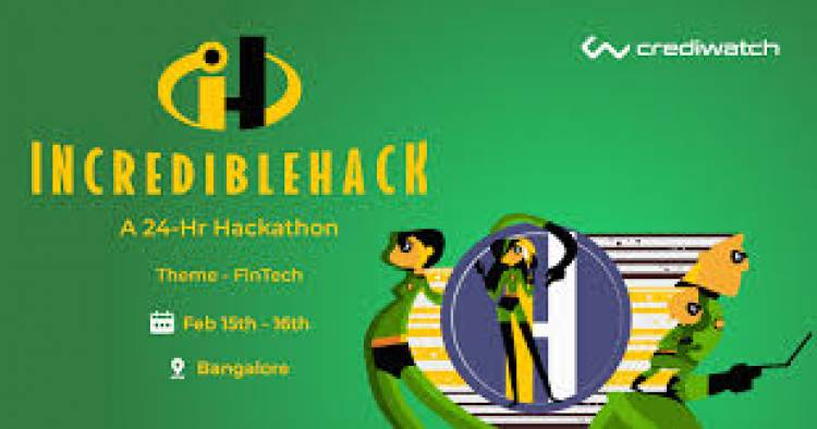 Crediwatch to host IncredibleHack, a 24-hour hackathon for creative disruptors