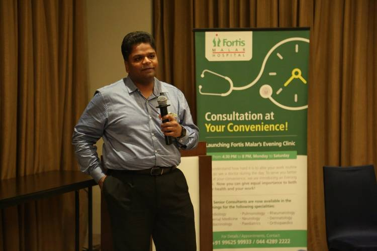 Fortis Malar Hospital conducts Emergency Conclave for emergency department doctors in the city