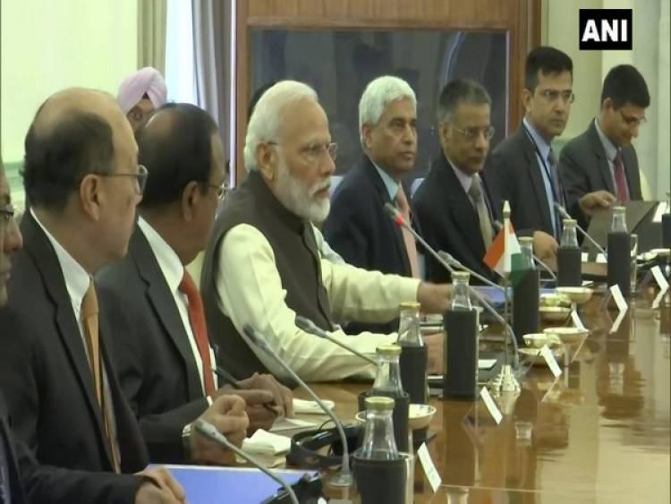 PM Modi,Portuguese President hold delegation level talks in Delhi