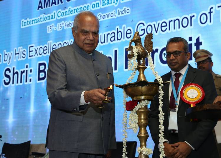 TN Governor Banwarilal Purohit Inaugurates Amar Seva's Early Intervention International Conference