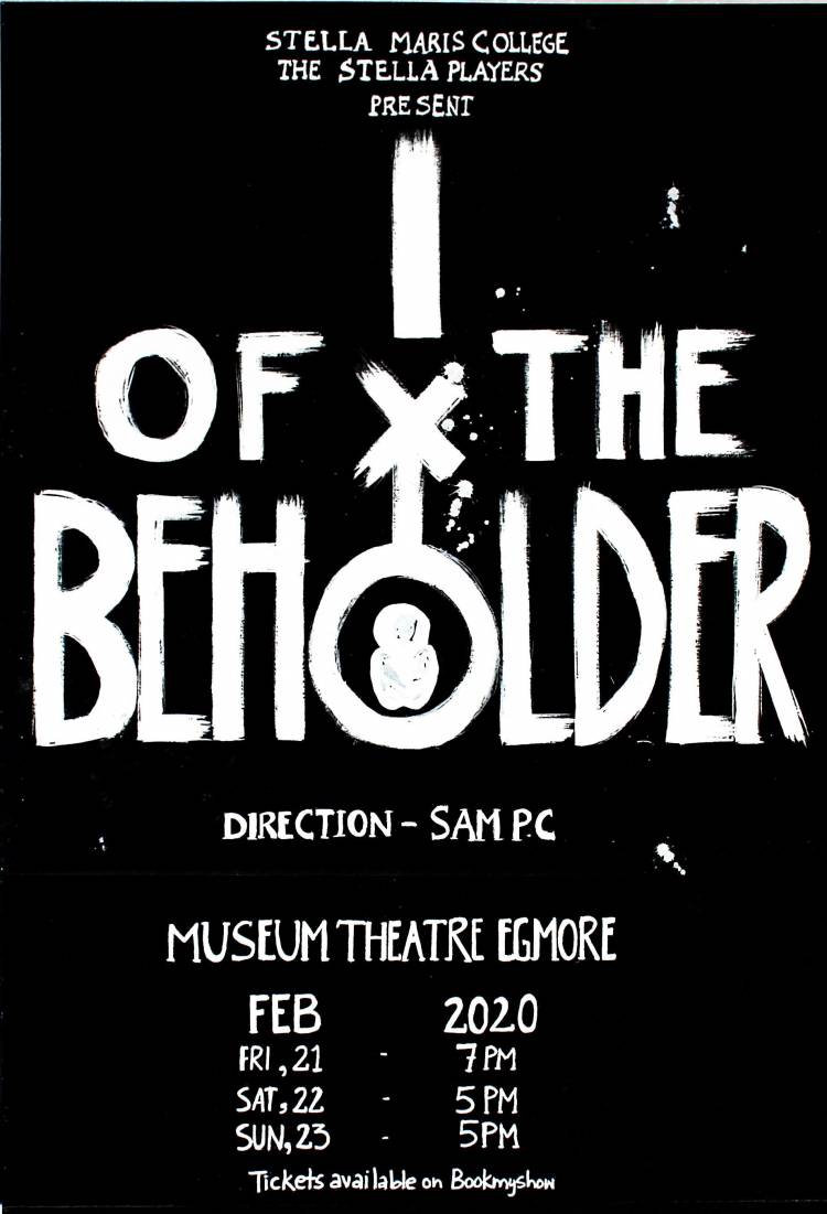 """""""I of the Beholder"""", an annual college play by the students of Stella Maris College"""