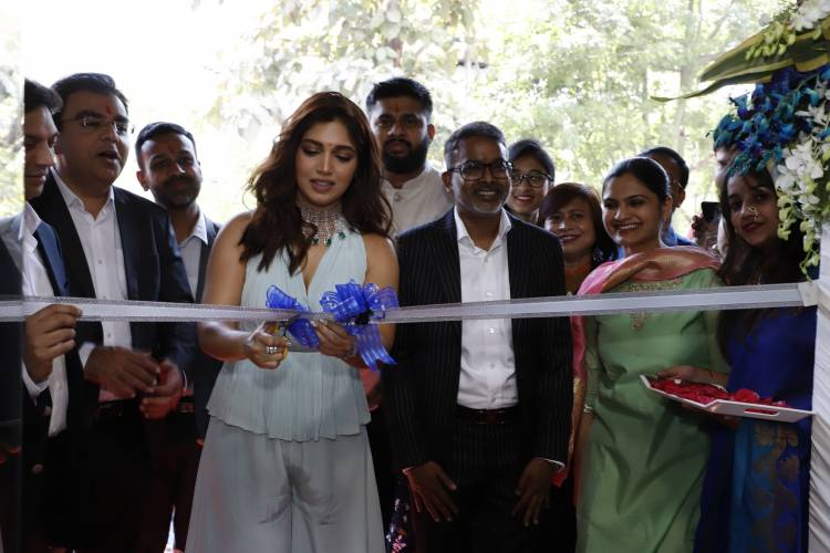 Actress Bhumi Pednekar launches the largest ORRA store in Nagpur