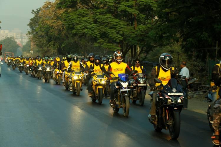 Bajaj Pulsar celebrates 18 years of success with a mega ride 'Stampede 2.0' across India