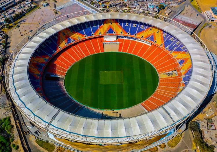 L&T Constructs World's Largest Cricket Stadium at Motera, Ahmedabad