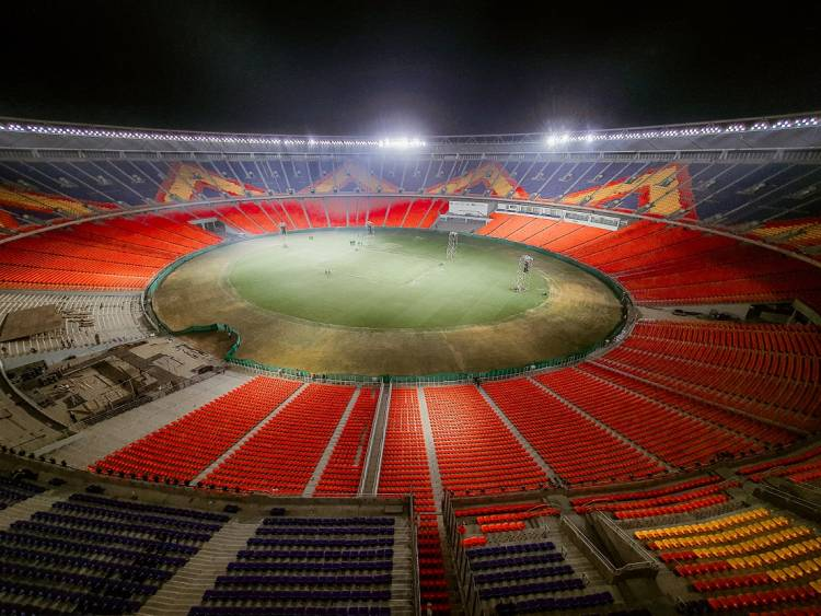 Signify provides cricket fans in India a pitch perfect view at the world's largest cricket stadium in Ahmedabad