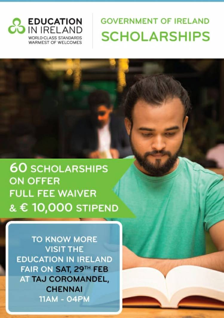 Government of Ireland brings its leading Irish institutes together for theEducation Fair in Chennai
