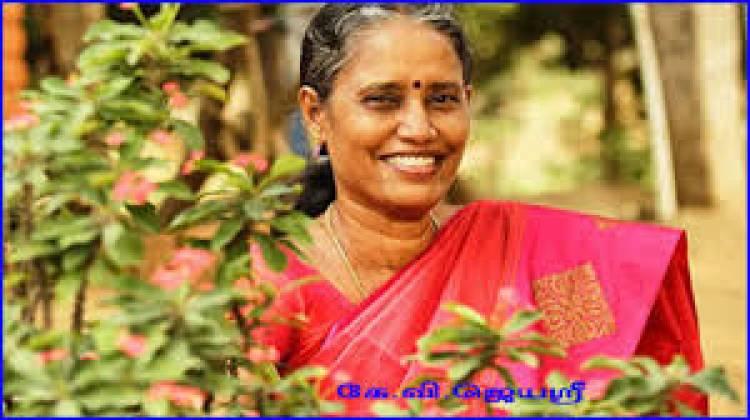 எழுத்தாளர் கே.வி.ஜெயஸ்ரீக்கு சாகித்ய அகாடமி விருது