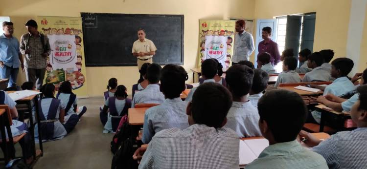 Freedom Healthy Cooking Oils conducts Eat Healthy Sessions in schools