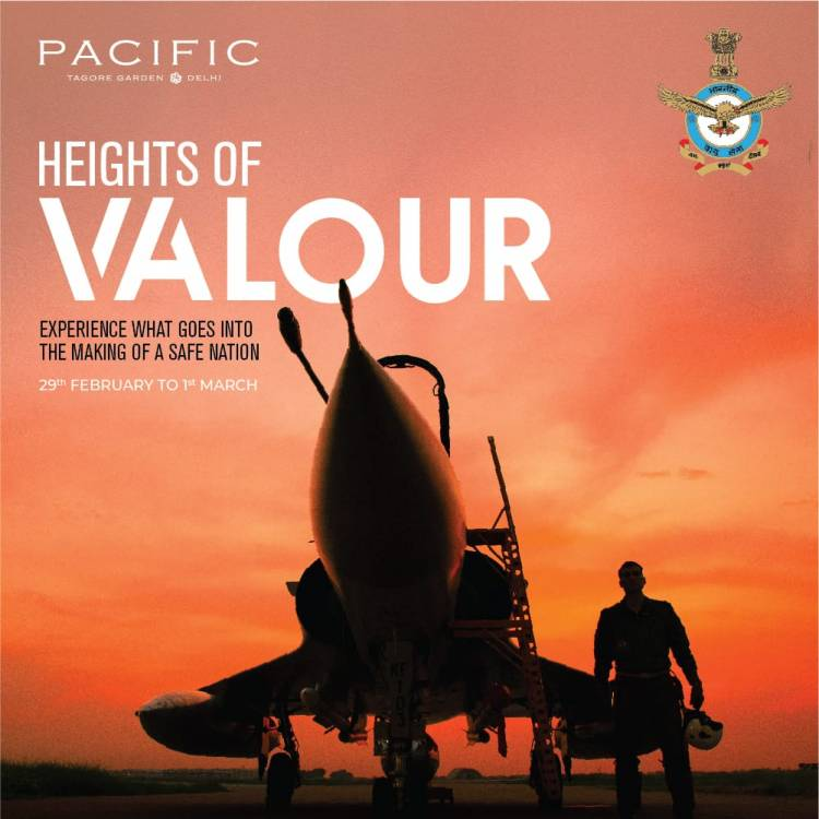 Indian Air Force exhibition at Pacific Mall to attract youth