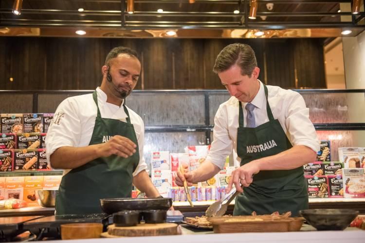 Aussie cuisine gets the taste test in India