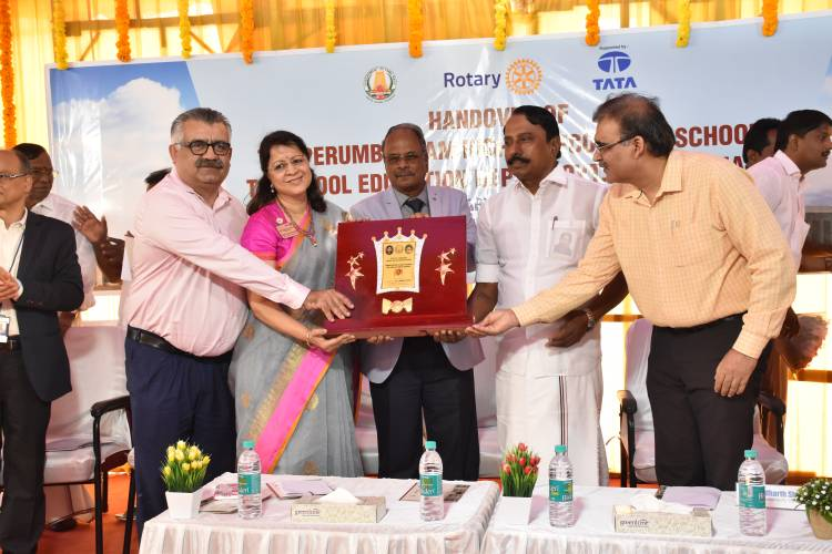 State-of-the-art school at Perumbakkam Inaugurated