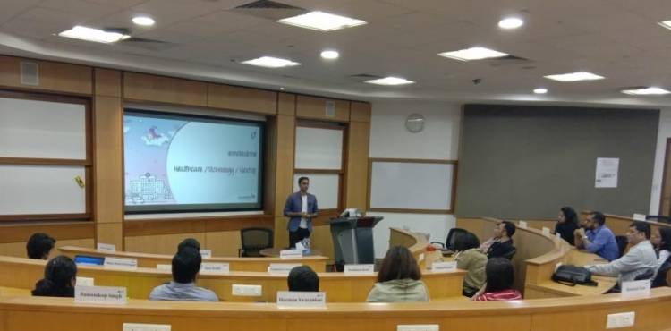 Leadership talk by Cloudnine Group of Hospitals at ISB, Mohali campus