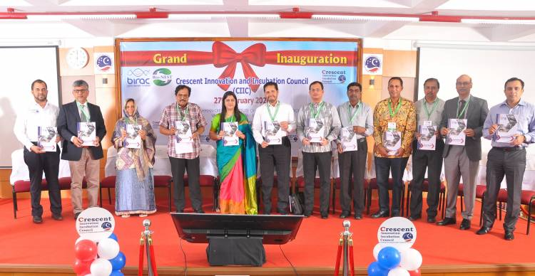 Inaugural ceremony of Crescent Innovation & Incubation Council on 27th Feb 2020