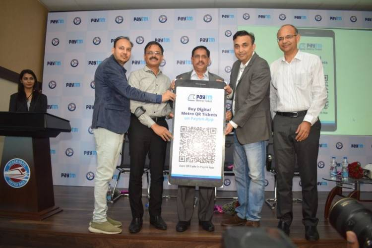 Paytm offers Hyderabad Metro Rail users a hassle-free ride, launches QR based tickets