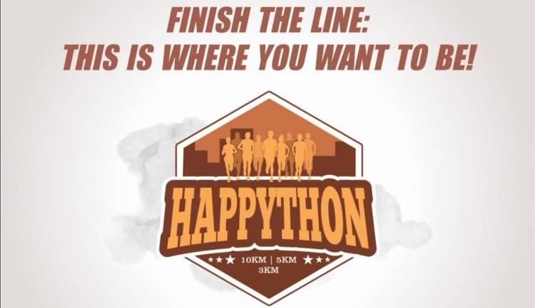 HAPPYTHON- More than a Marathon to organize at Spectrum Noida