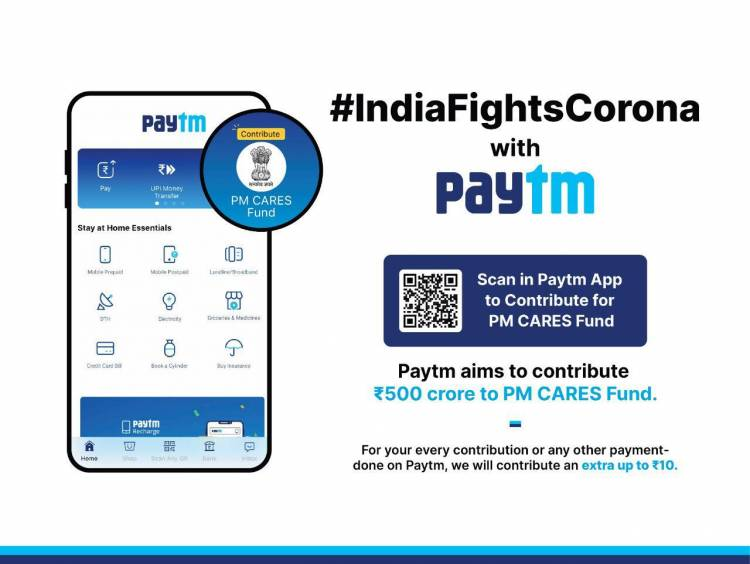 Paytm revamps UI with Stay at Home Essential Payments; launches COVID-19 Information Centre