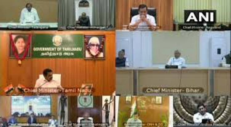 PM Modi holds Covid-19 review meeting with Chief Ministers